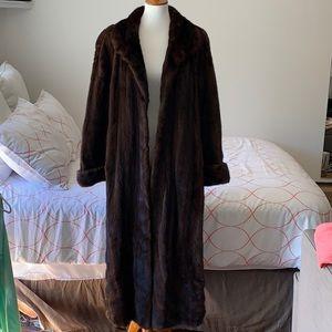 Jackets & Blazers - Full length authentic mink coat